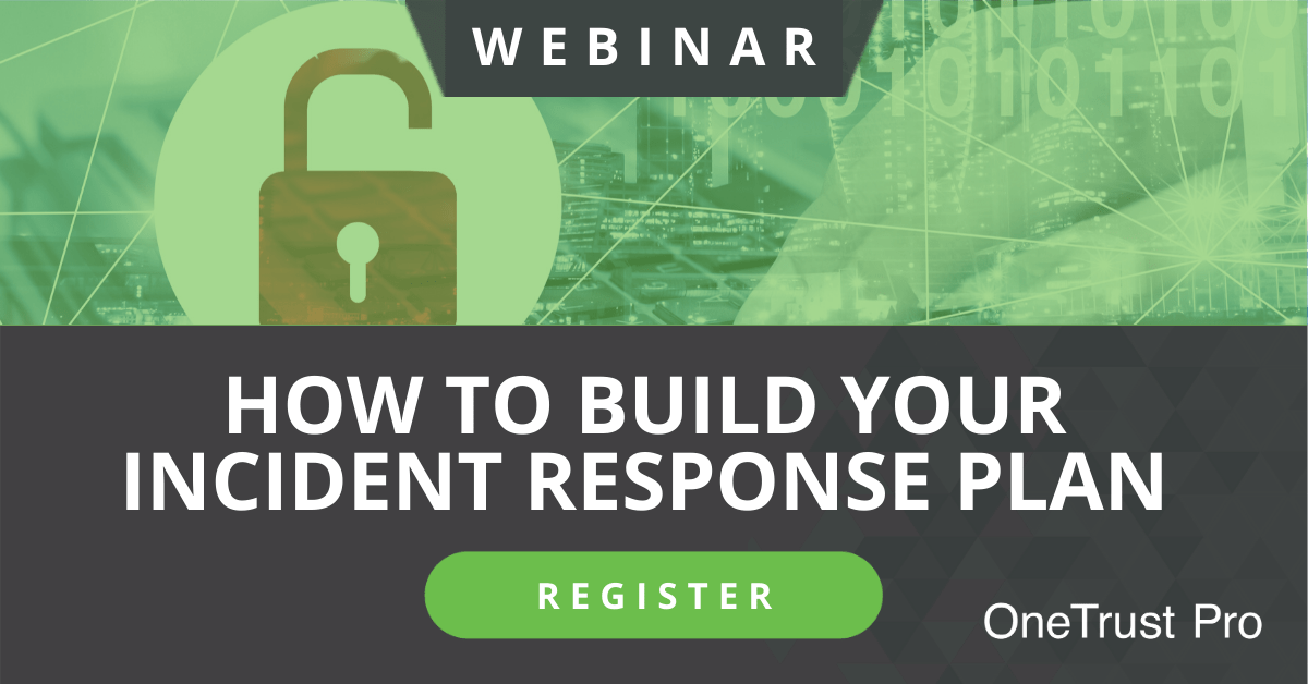 How to Build Your Incident Response Plan